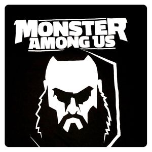 WWE Braun Strohman Monster Among Us Graphic T Lg